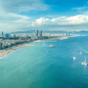 Barcelona, Port Olímpic.