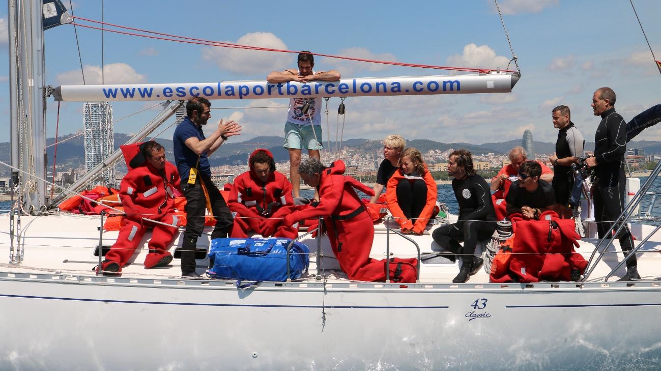 Formación Básica en Seguridad - STCW - Escola Port Barcelona