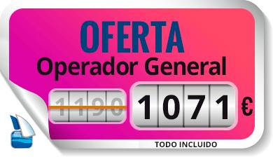 Oferta Operador general SMSSM