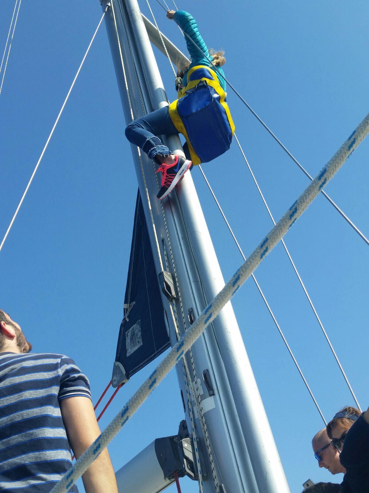Marinero de Puente - prácticas - FP del MAR - Escola Port
