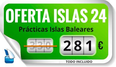 Oferta -15% prácticas ISLAS 24 - Escola Port Barcelona
