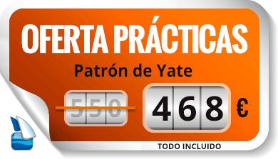 Oferta -15% Prácticas de patrón de Yate - Escola Port Barcelona