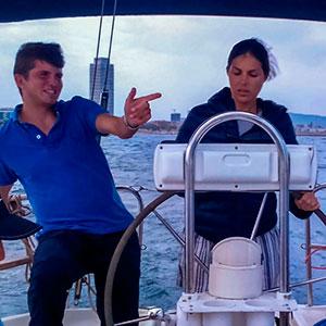 PNB - prácticas de navegación en el Port Olimpic- Escola Port Barcelona
