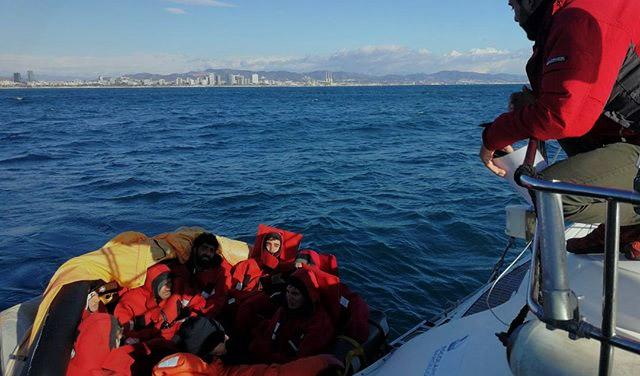 Botes de Rescate no Rápidos - prácticas - FP del MAR - Escola Port