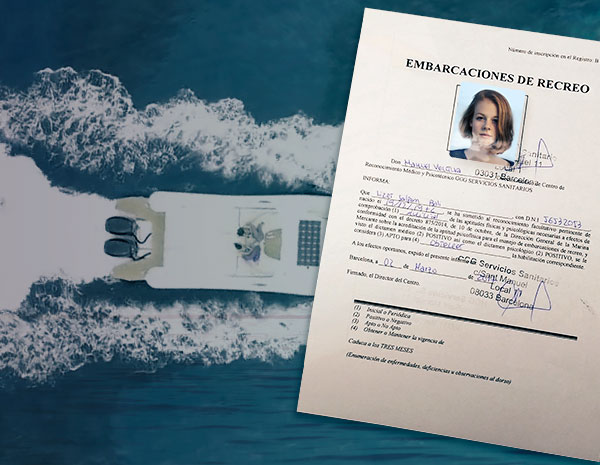 NAUTICAL MEDICAL CERTIFICATE - Licencia de Navegación -  Escola Port