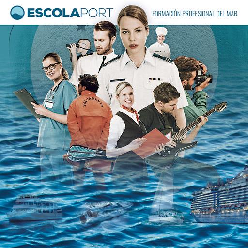 Folleto - Escola Port - Formación Profesional del Mar - 2018