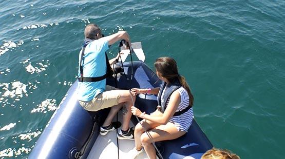 Licencia de Navegación - Práctica de fondeo - Escola Port Barcelona