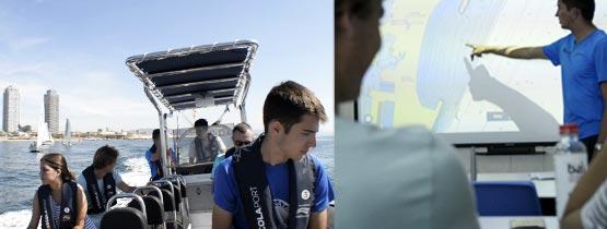 Licencia de Navegación - Teoría y Prácticas - Escola Port Barcelona