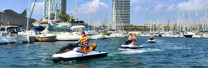 PNB prácticas moto náutica Escola Port