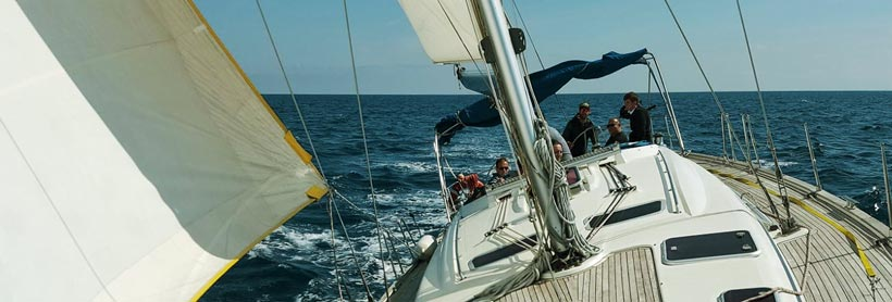 Prácticas VELA - curso PNB - Escola Port - Formación Profesional del Mar - Barcelona