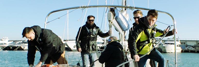 Prácticas MOTOR - curso PNB - Escola Port - Formación Profesional del Mar - Barcelona