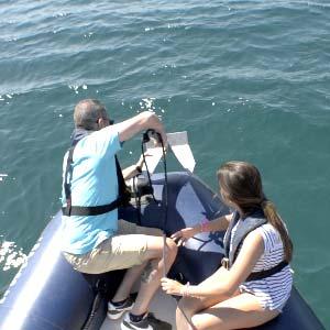 Barco de prácticas - Alquiler en grupos reducidos - Fondeo