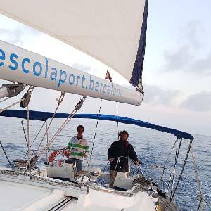 Barco de prácticas - Alquiler en grupos reducidos - Vela
