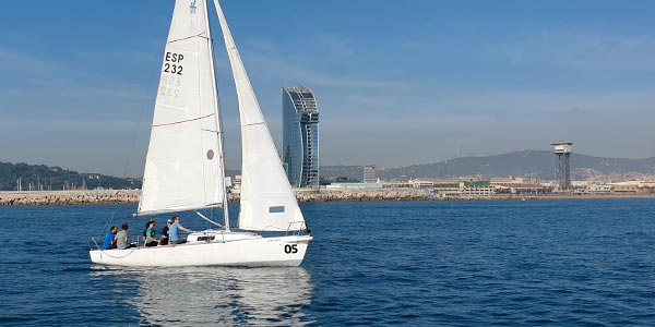 Curso de Navegación a Vela básico -  Escola Port - Barcelona