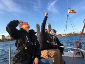 experiencia curso de navegación a vela