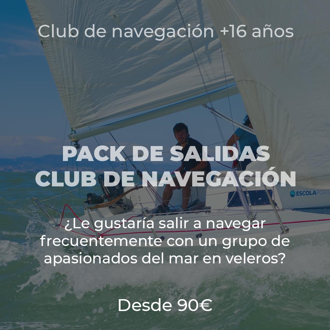 Packs de sortides amb el club de navegació