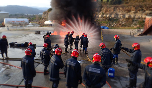 Pràctiques en camp de foc - Escola Port